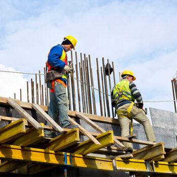 Construction Exterior Scaffolding