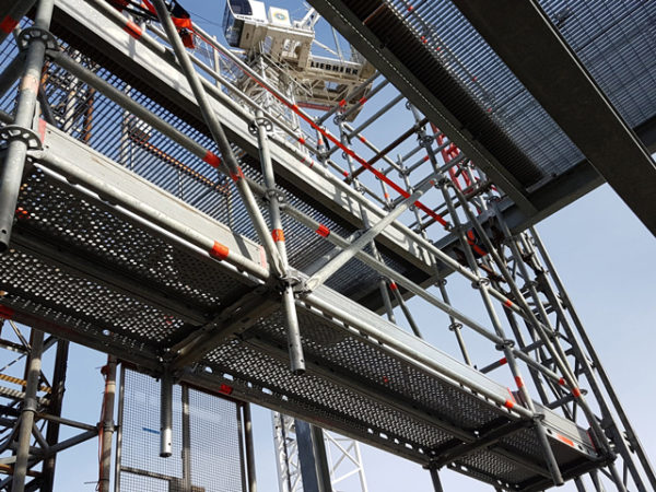 suspended scaffold