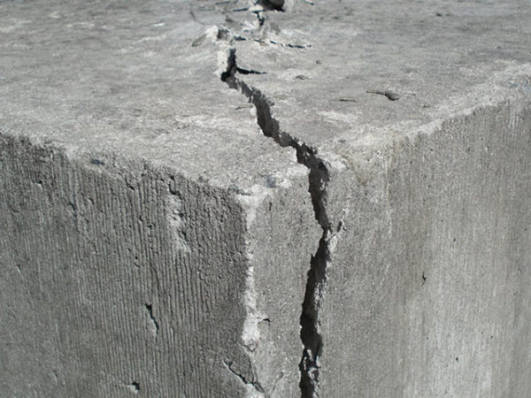 What is the concrete crack repair